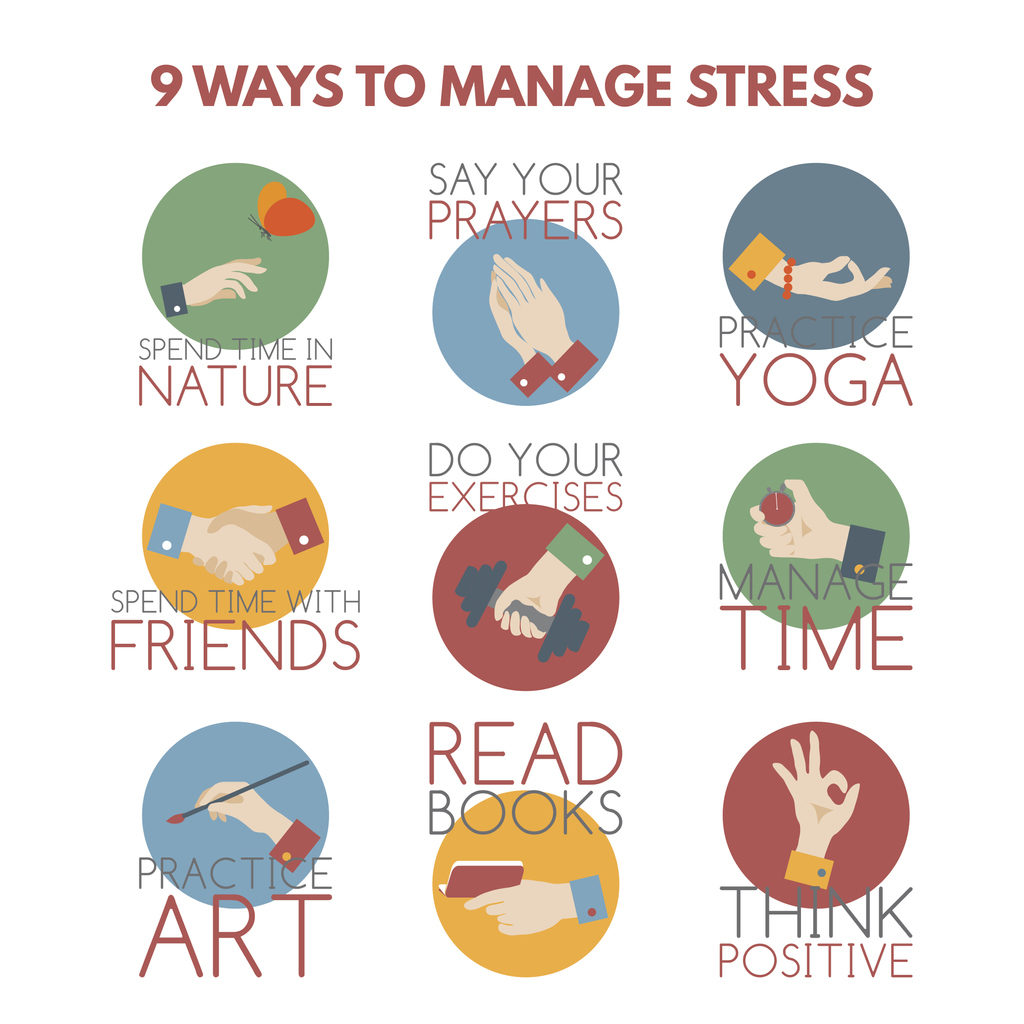 Solutions to manage stress