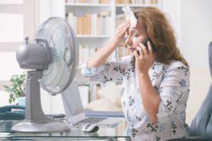 Bouffées de chaleur : comment s'en débarrasser ?