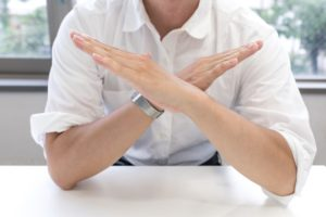 Learn to say no: how to do it without feeling guilty?