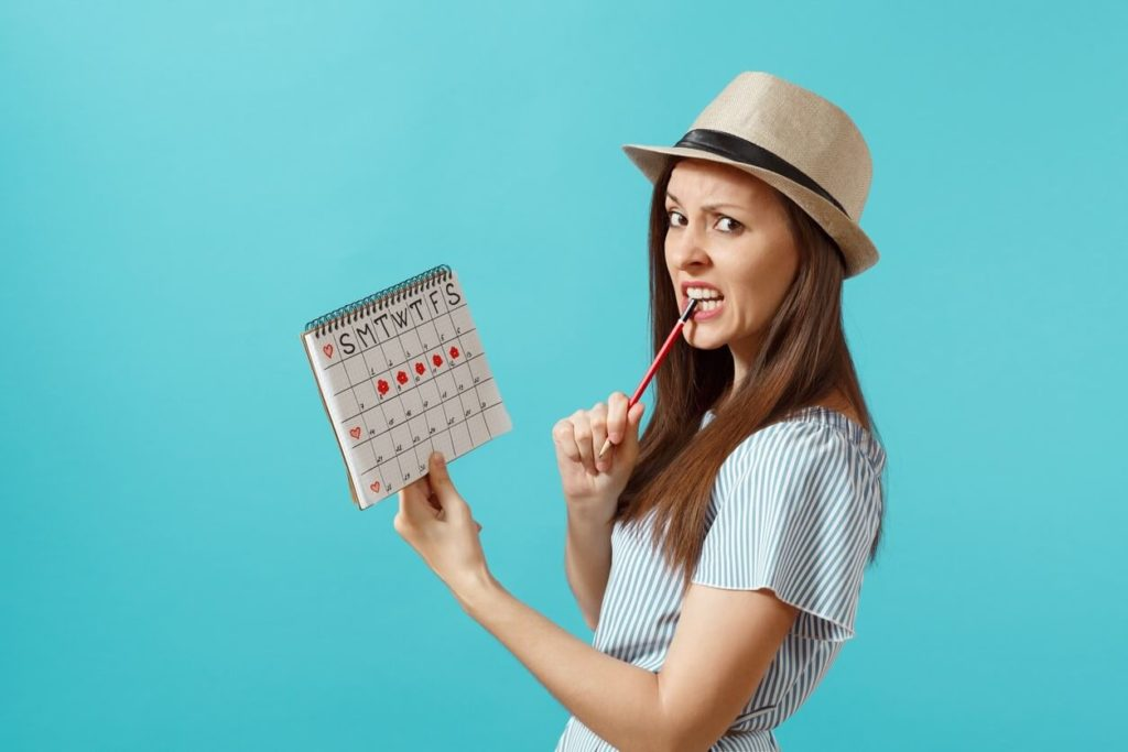 Period blockage: can stress delay your period?
