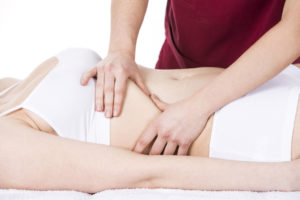 How to massage and relax the diaphragm?