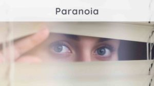 Paranoia: how to get out of it?